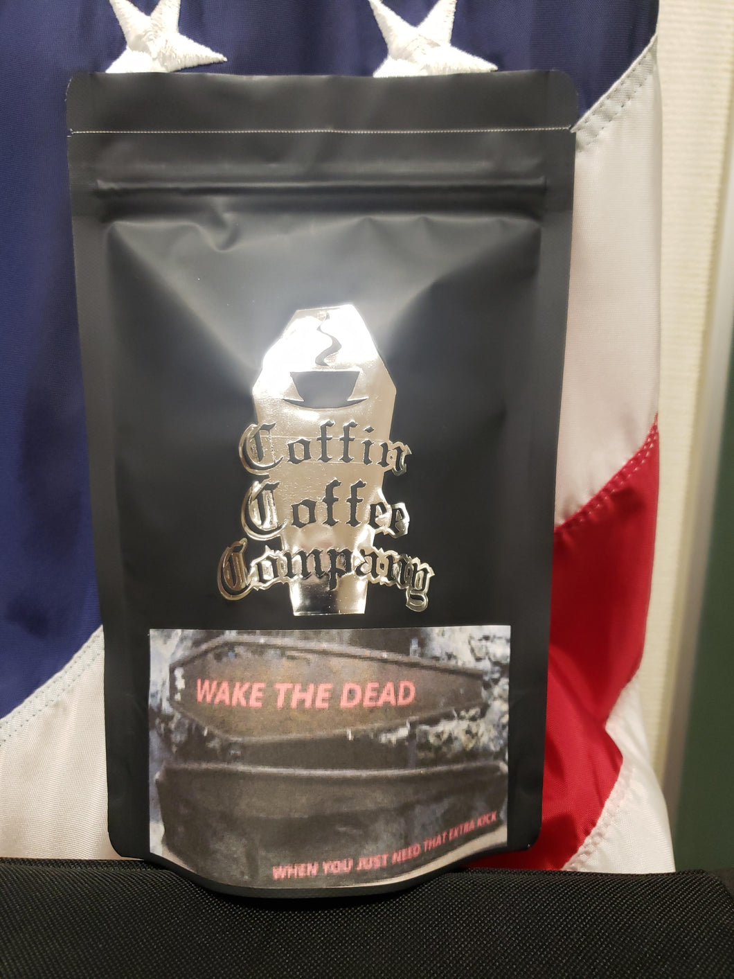 Wake The Dead 12oz of high octane coffee!