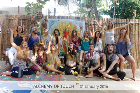 Massage Graduation Shivani Touch Goa 2016