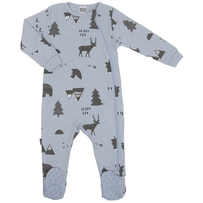 Wild & Free Side Zip Nature Sleeper - Lullaby's Boutique