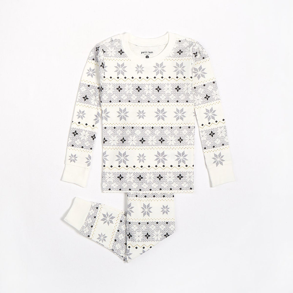 Fair Isle Pyjama Set - Lullaby's Boutique