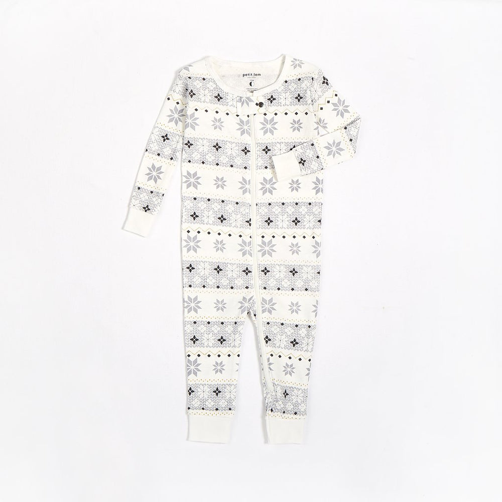 Fair Isle Romper - Lullaby's Boutique