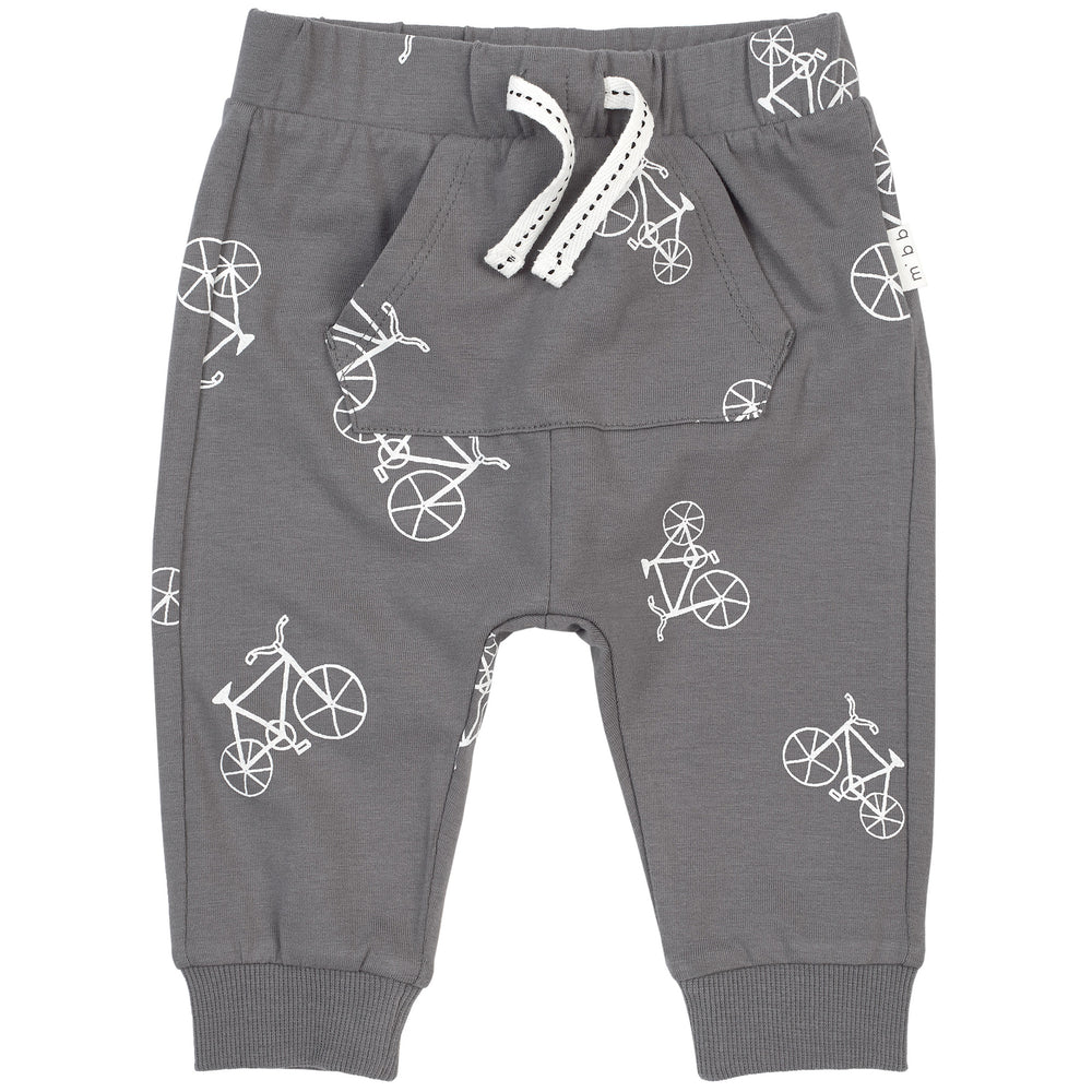 Grey Velo Jogger - Lullaby's Boutique