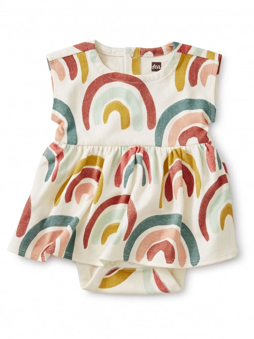Sweet Sightings Rainbow Diaper Dress - Lullaby's Boutique