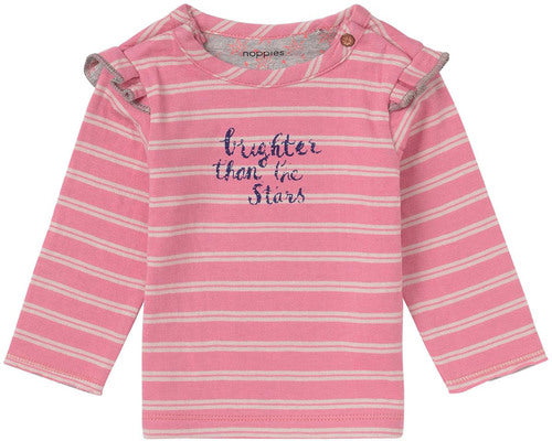 Brighter than the Stars Pink Tee - Lullaby's Boutique