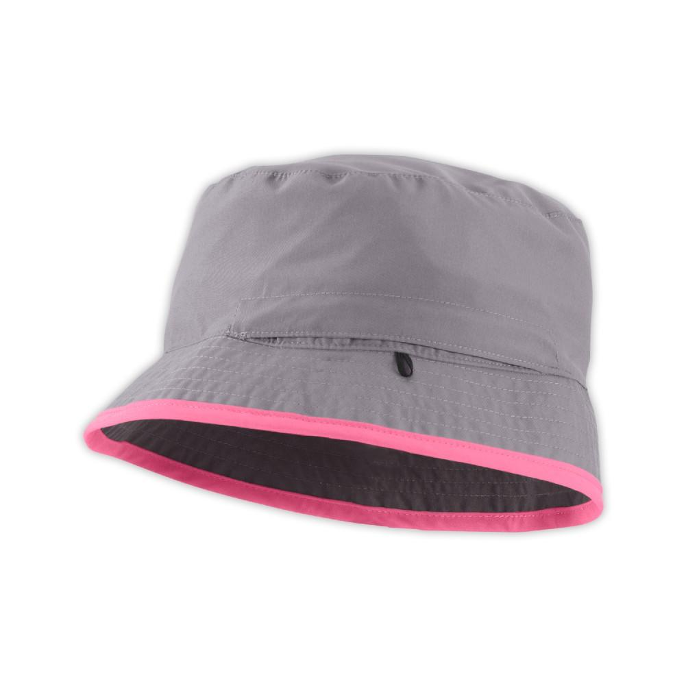 North Face Sun Stash Hat in Metallic Silver - Lullaby's Boutique