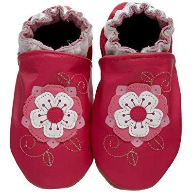 Fancy Flora Soft Soles - Lullaby's Boutique