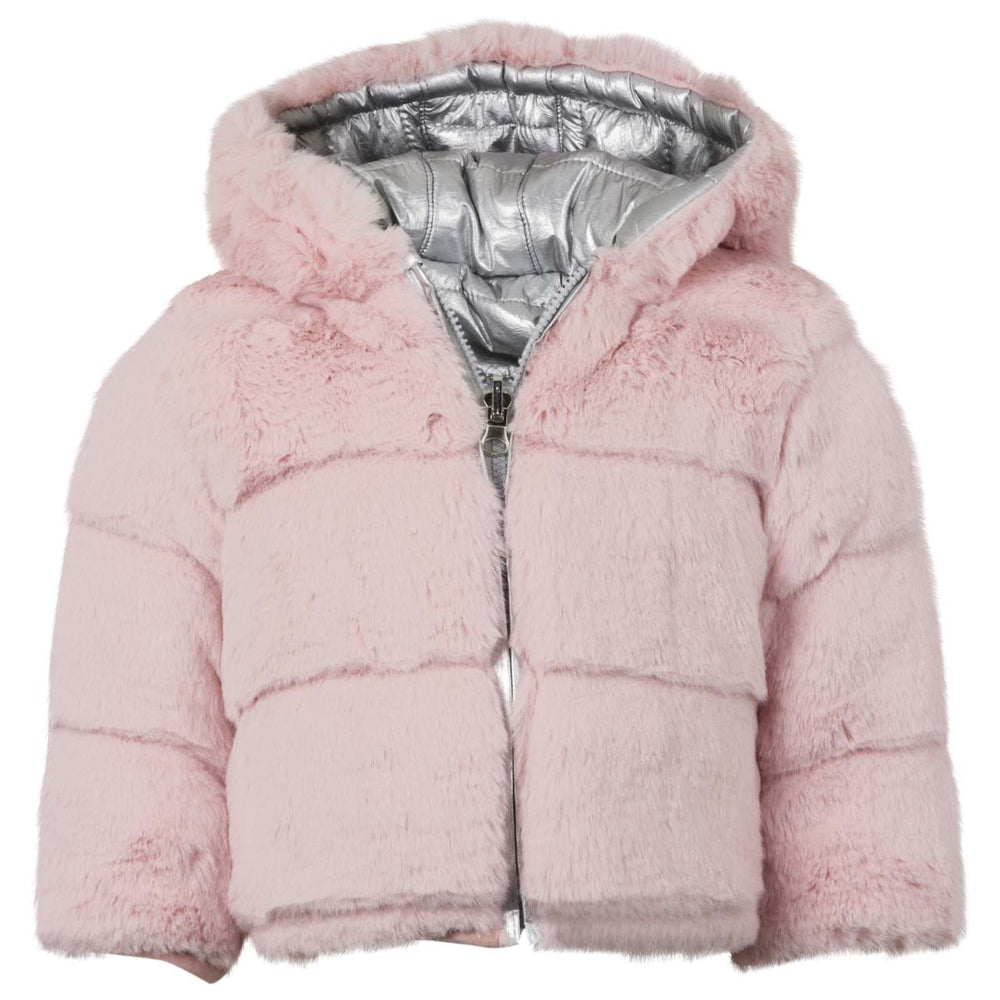 Reversible Teddy Bear Coat - Lullaby's Boutique