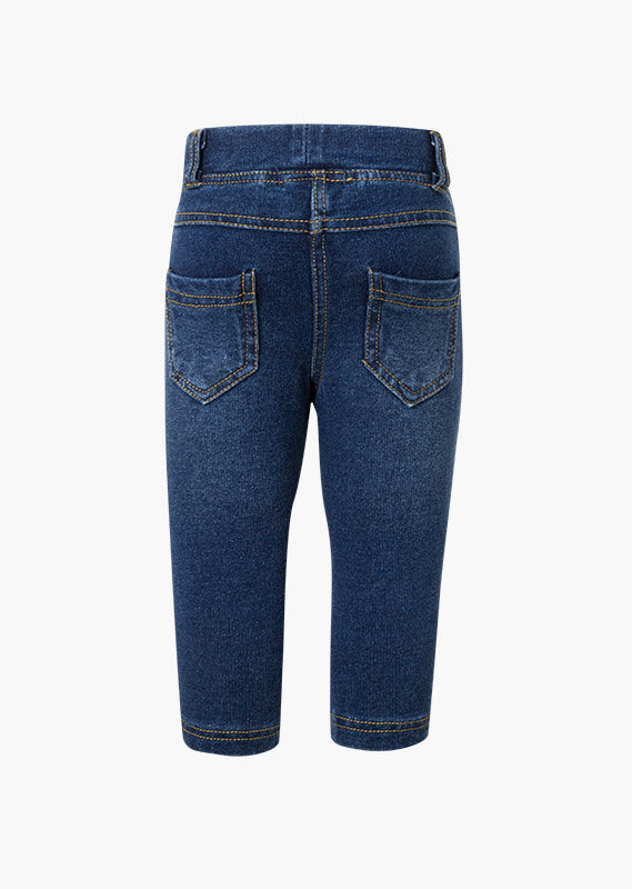 Plush Jegging in Denim - Lullaby's Boutique