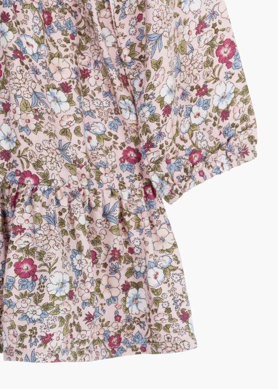 Long Sleeve Floral Dress - Lullaby's Boutique
