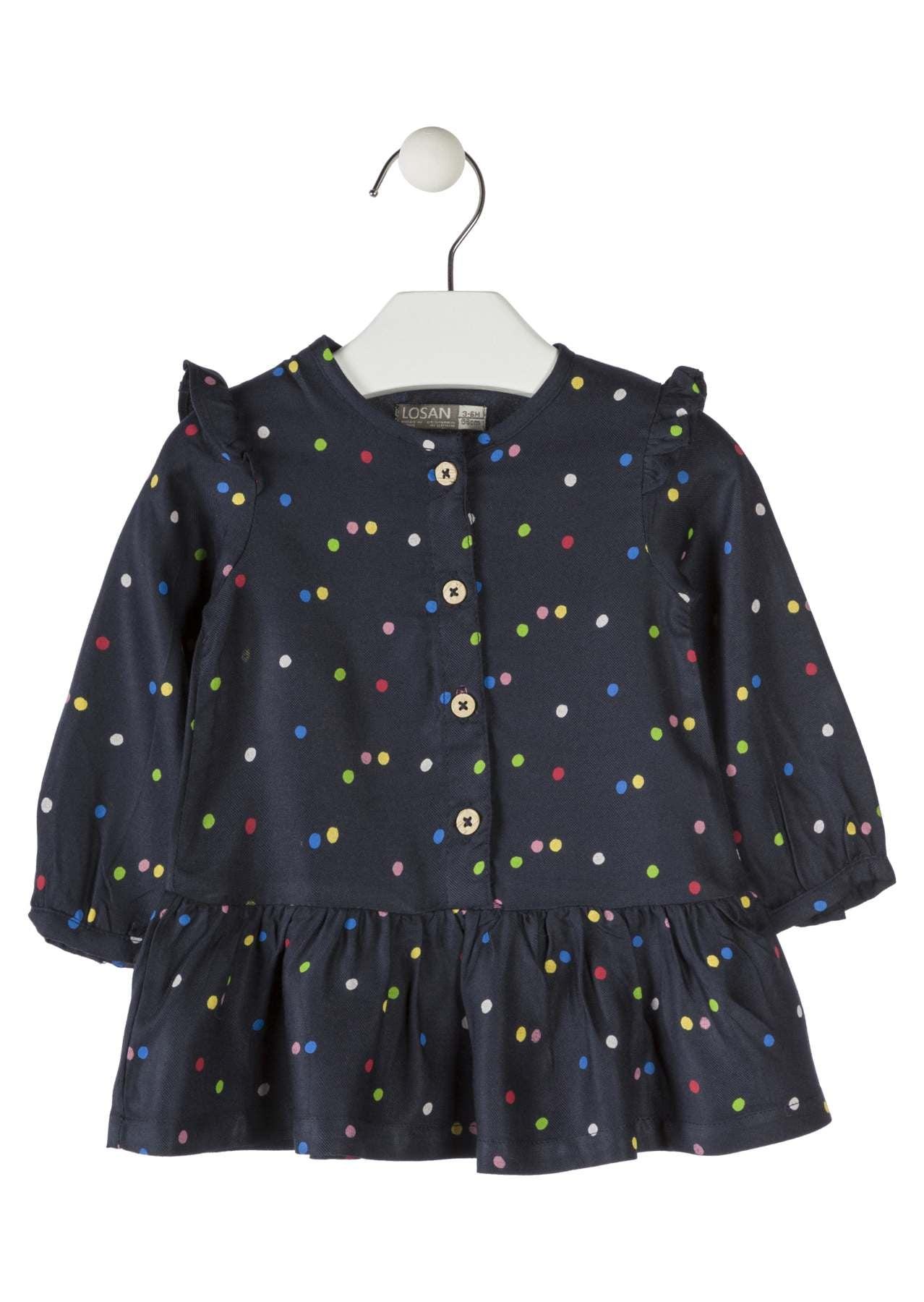 Polka Dot Tunic Dress - Lullaby's Boutique