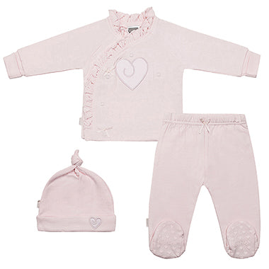 Classics Take Me Home Set Pink Heart - Lullaby's Boutique
