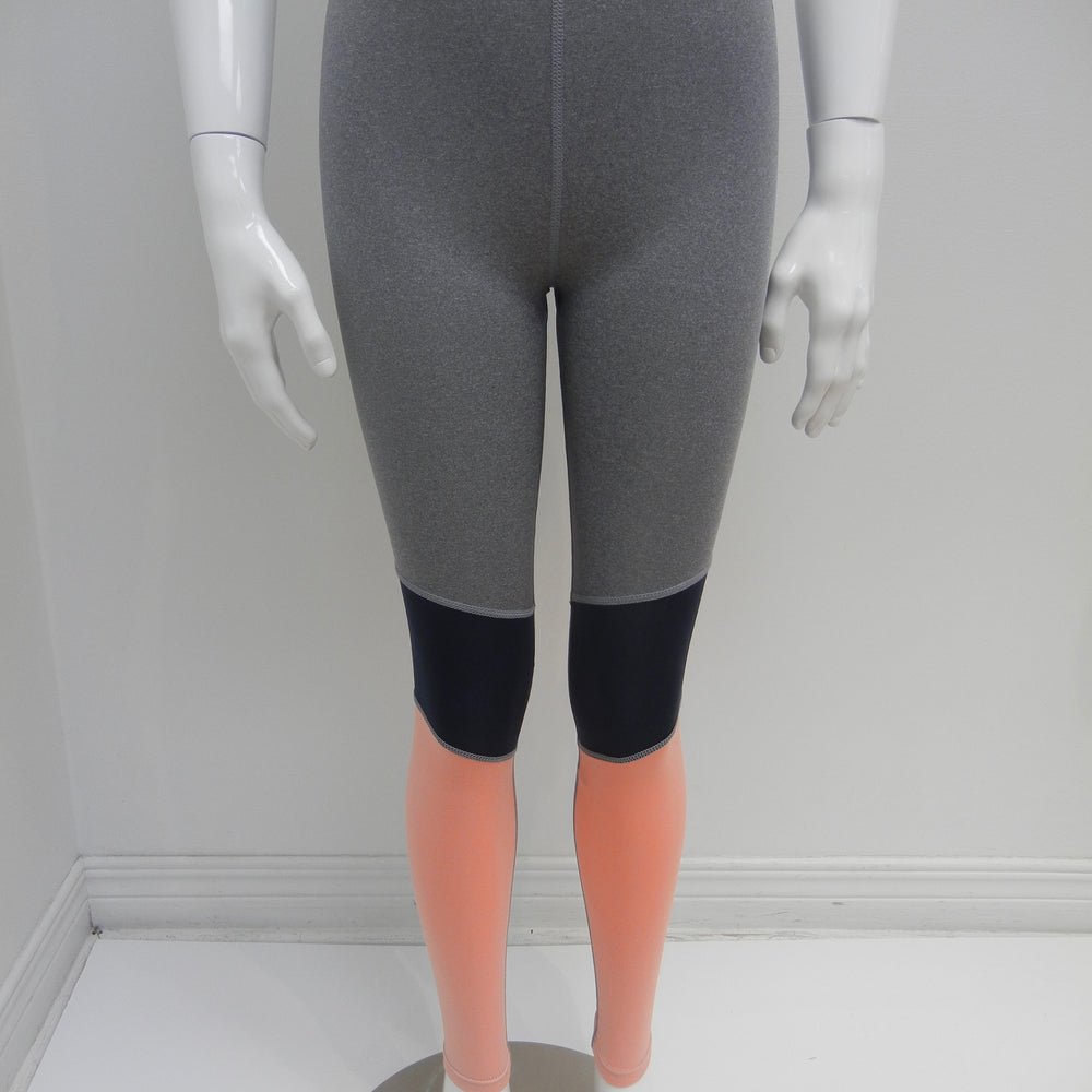 Heather Grey Colourblock Active Pants - Lullaby's Boutique