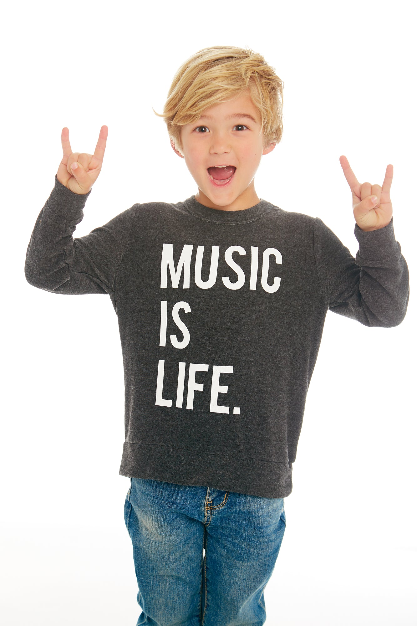 Music is Life Sweater - Lullaby's Boutique