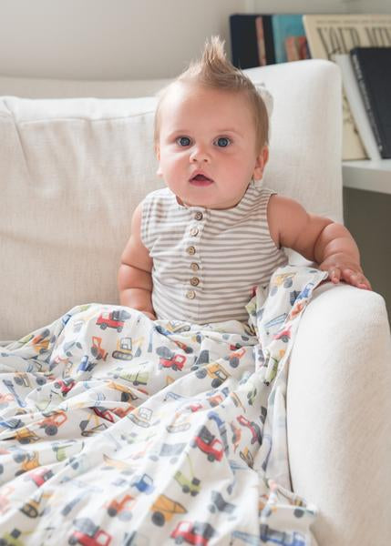 Premium Knit Diesel Swaddle Blanket - Lullaby's Boutique