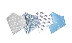 Cruise Bibs - 4 Pack - Lullaby's Boutique