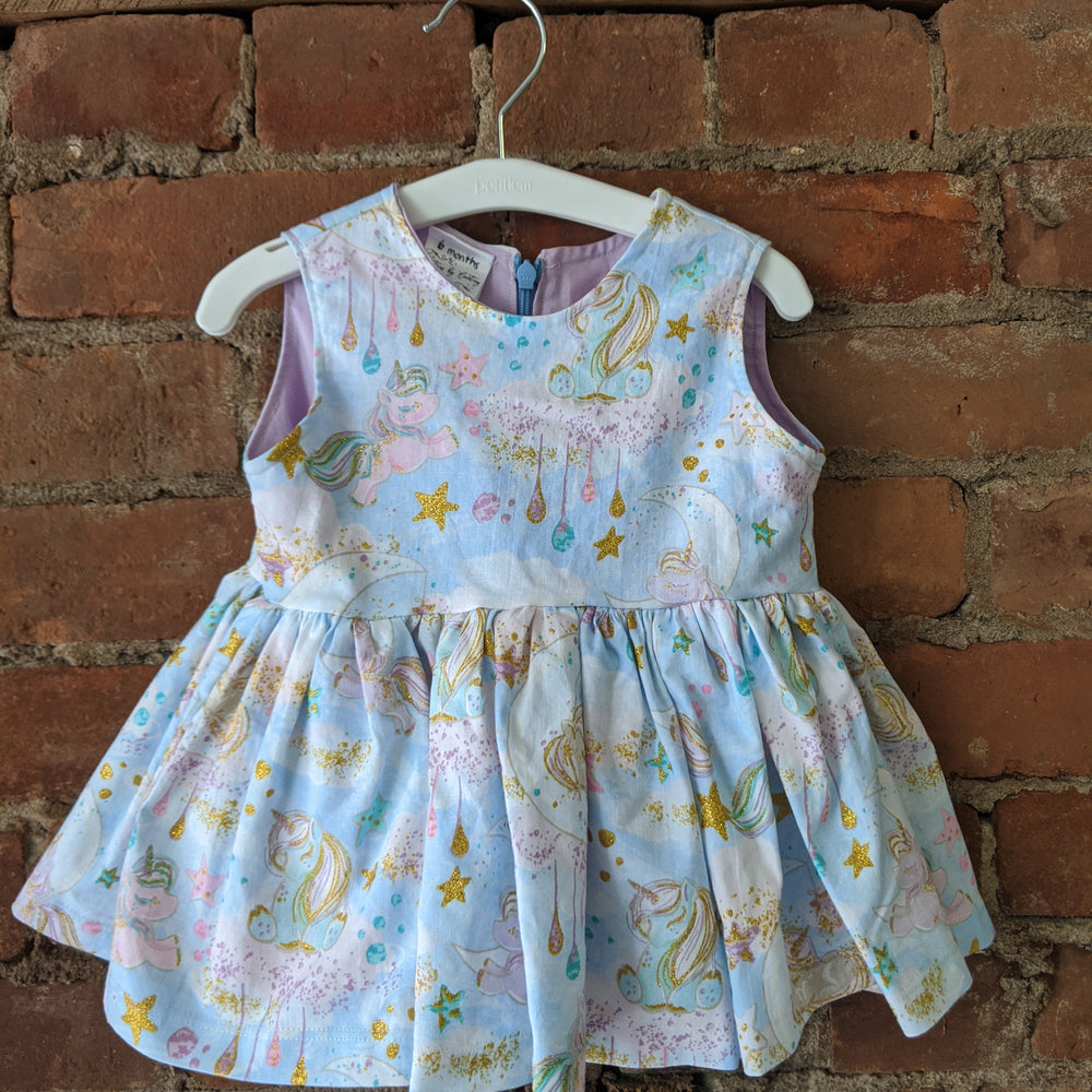 Unicorn Party Dress - Lullaby's Boutique