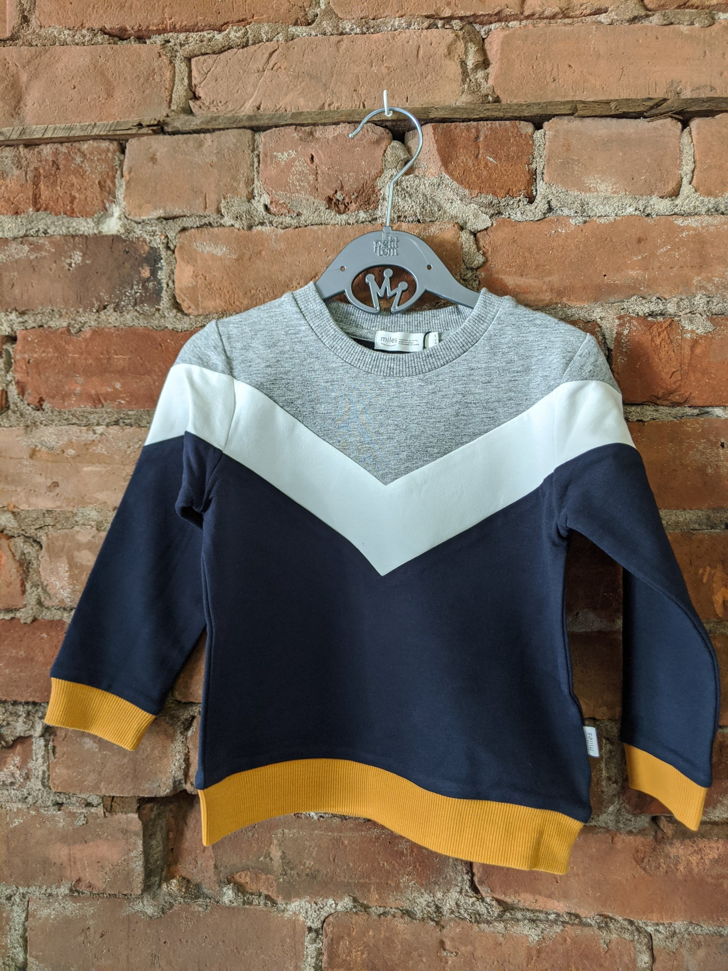 Miles Academy Long Sleeve Sweater