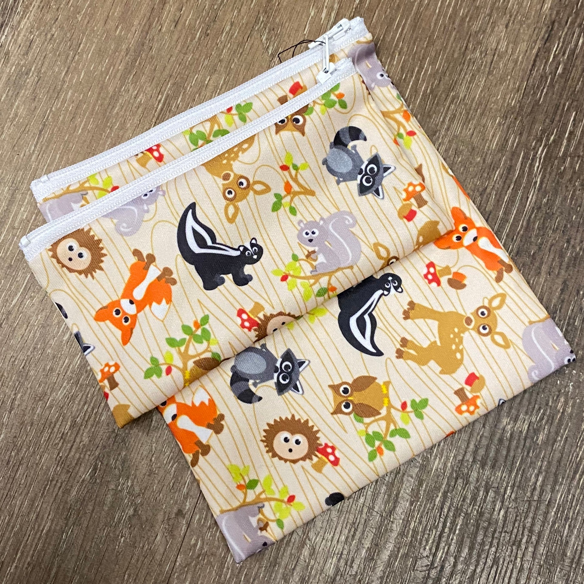 Reusable Snack Bag Set