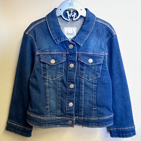 Snap Closure Jean Jacket