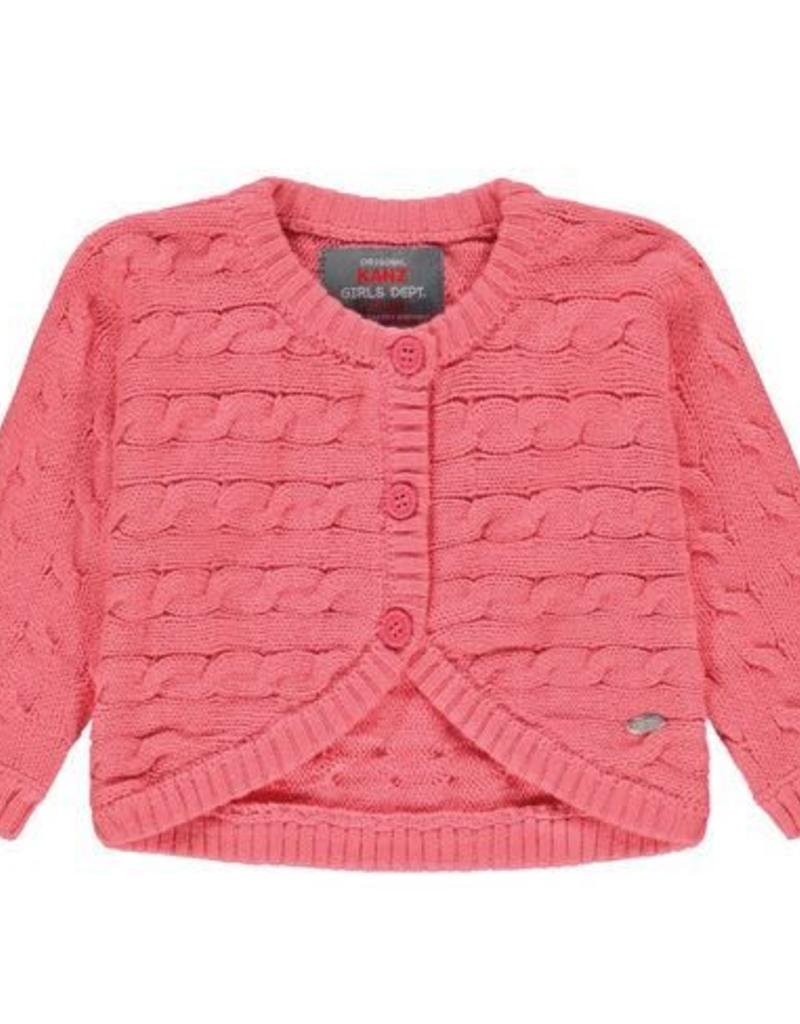 Knit Pink Bolero Cardigan - Lullaby's Boutique
