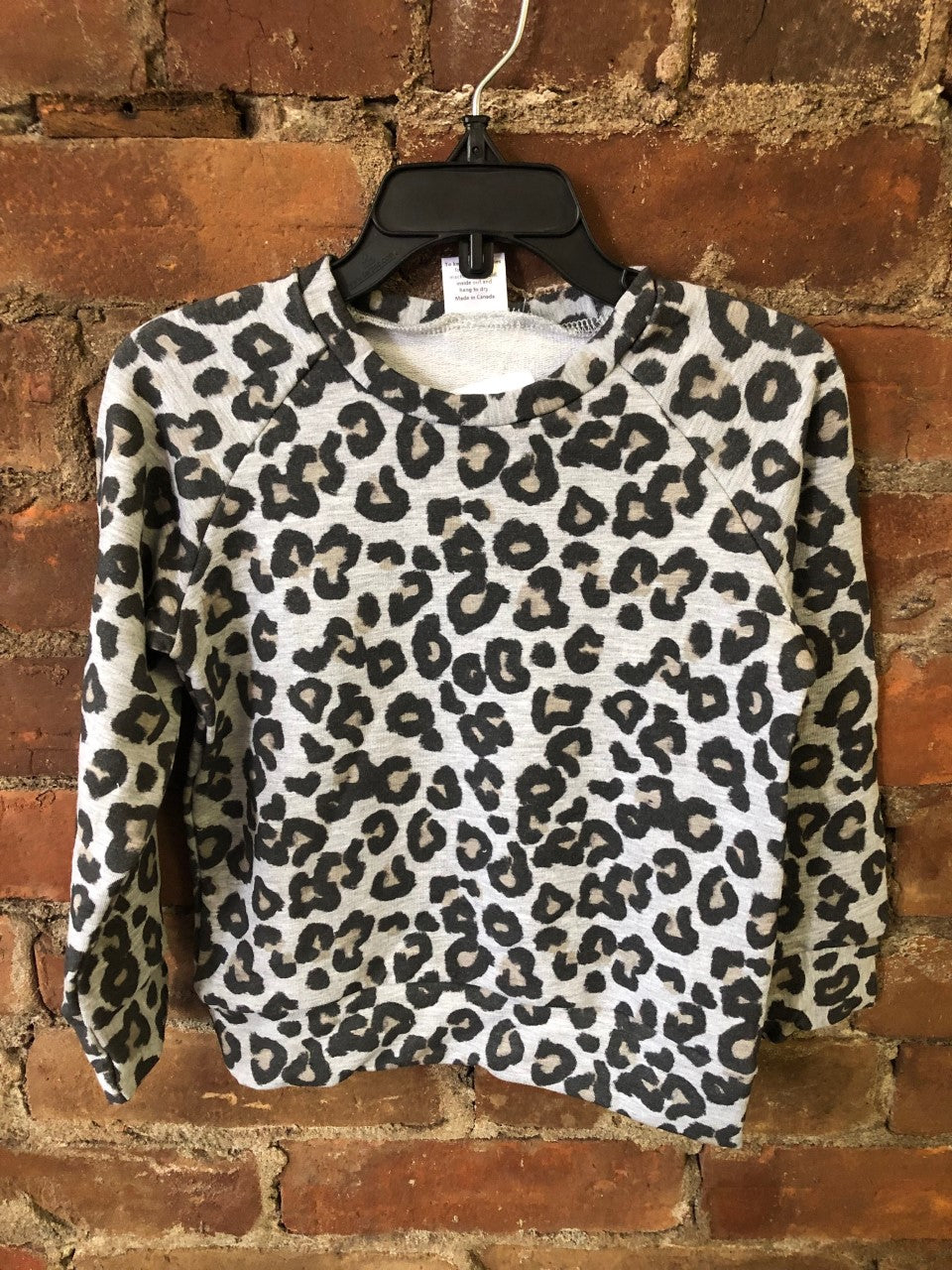 Leopard Crewneck Sweater - Lullaby's Boutique