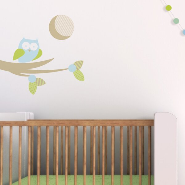Moonlight Owl Wall Decal - Lullaby's Boutique