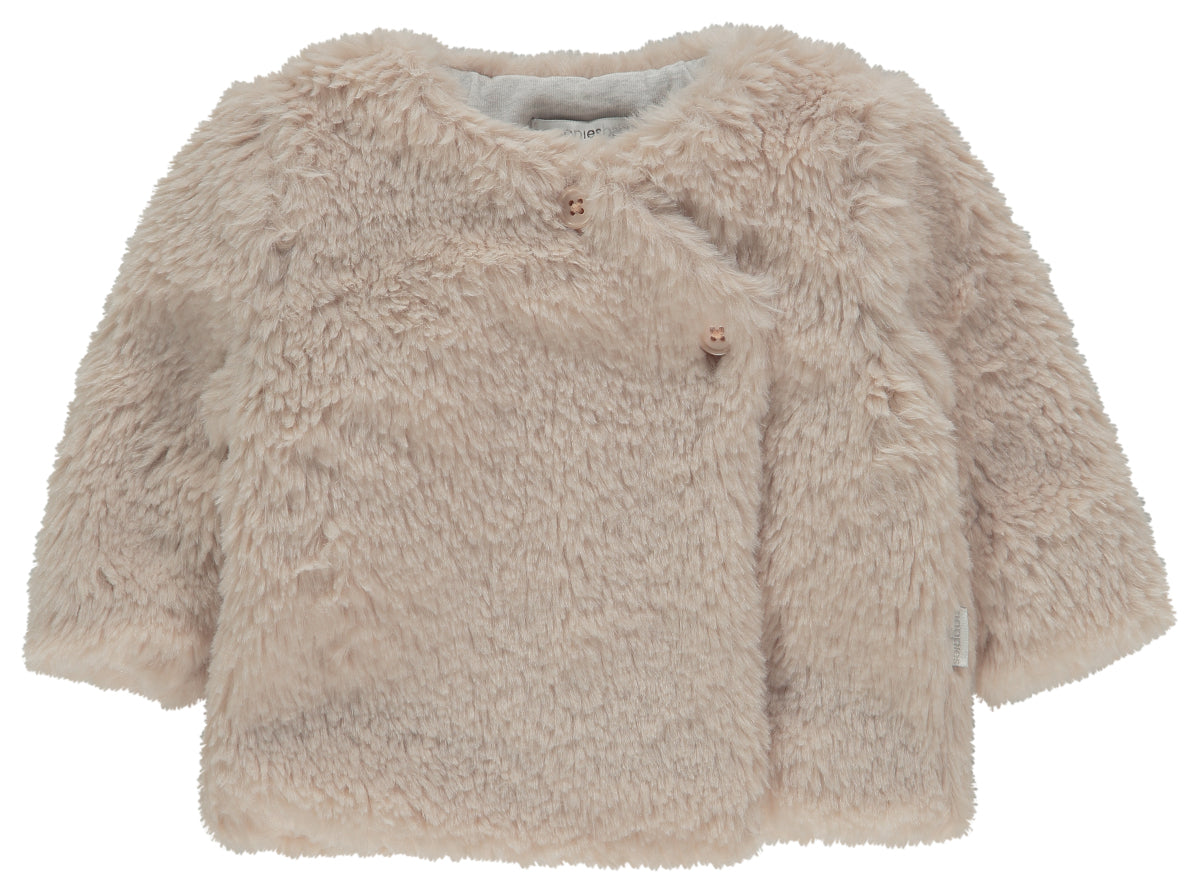 Teddy Bear Corona Cardigan Peach Blush - Lullaby's Boutique
