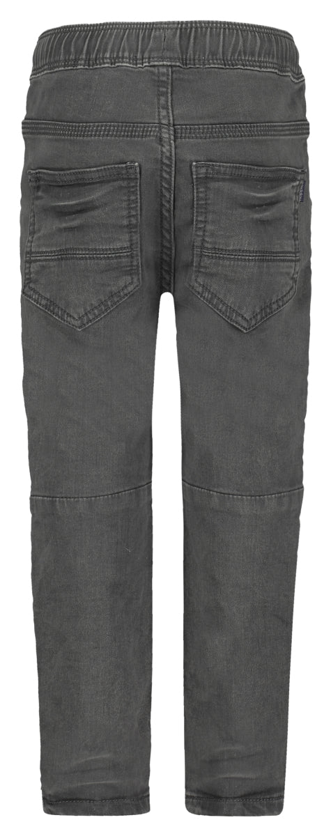 Grey Moto Bear Trousers - Lullaby's Boutique