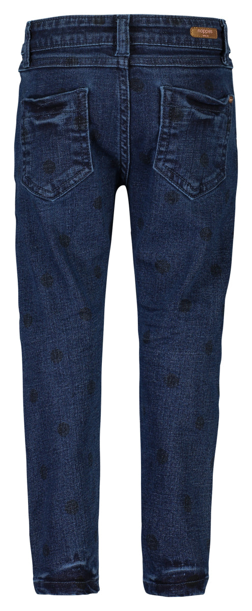 Polka Dot Belliar Jeans - Lullaby's Boutique