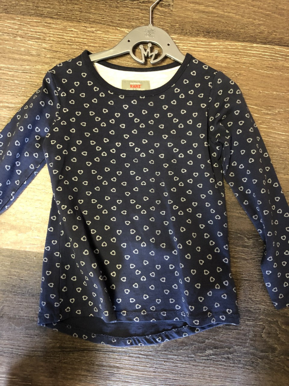 Scattered Hearts Long Sleeve Tee - Lullaby's Boutique