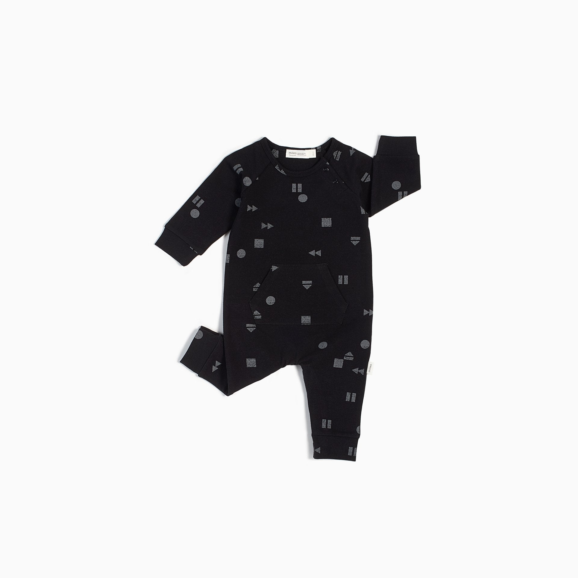 Black Play/Replay Playsuit - Lullaby's Boutique