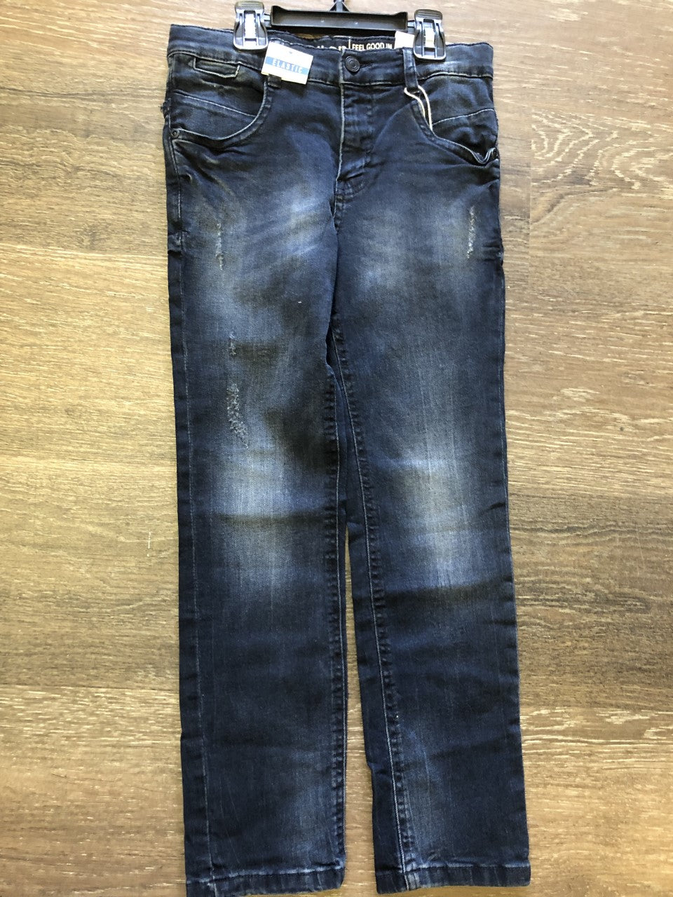 Dark Denim Distressed Jeans - Lullaby's Boutique