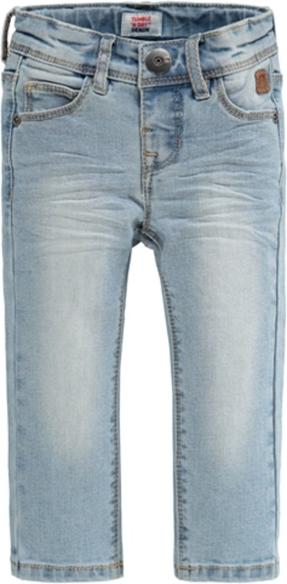 Extra Slim Bleach Denim Franc - Lullaby's Boutique