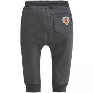 Boom Shakalaka Grey Carrot Joggers - Lullaby's Boutique