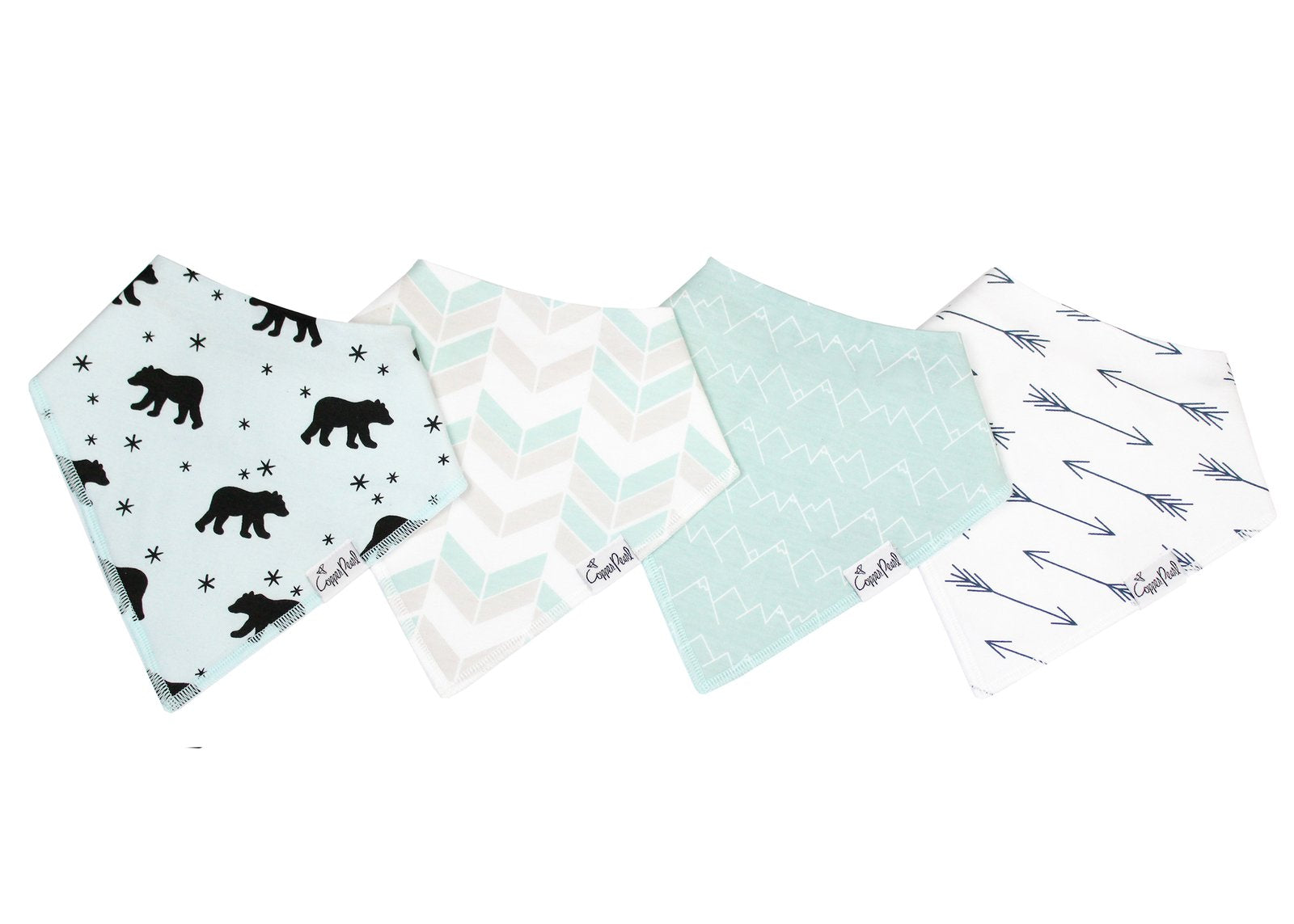 Archer Bibs, 4 pack - Lullaby's Boutique