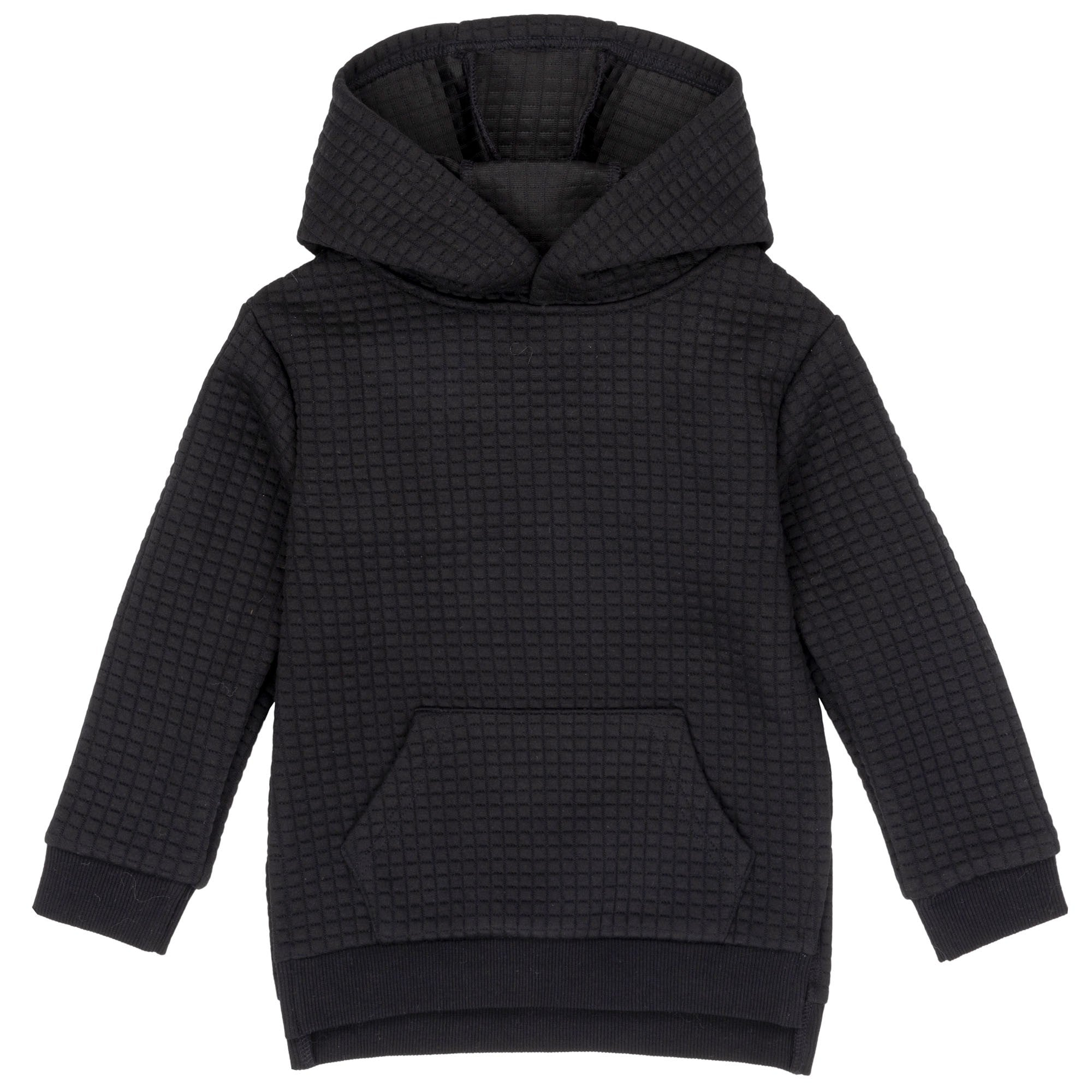 Quilted Hoodie with Kangaroo Pocket - Lullaby's Boutique