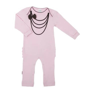 Pink Pearl Union Suit - Lullaby's Boutique