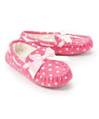 Pink Shimmer Dot Slippers - Lullaby's Boutique