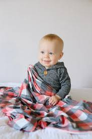 Plaid Swaddle Blanket - Jack