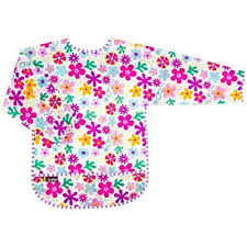 Waterproof Bib with Sleeves - Lullaby's Boutique