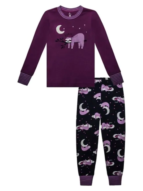 Sloth Pyjama Set - Lullaby's Boutique