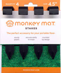 Monkey Mat Stakes - Lullaby's Boutique