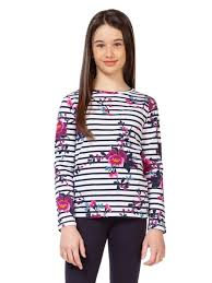 Floral Shirt with Stripes - Lullaby's Boutique