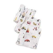 Boss Baby Cotton Muslin Swaddles - Lullaby's Boutique