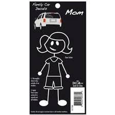 Family Car Stickers -- Mom - Lullaby's Boutique