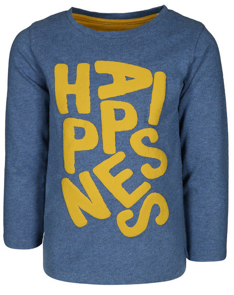 Happiness Happy Days Long Sleeve Tee - Lullaby's Boutique