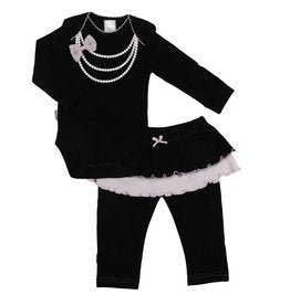 Black Pearls Set - Lullaby's Boutique