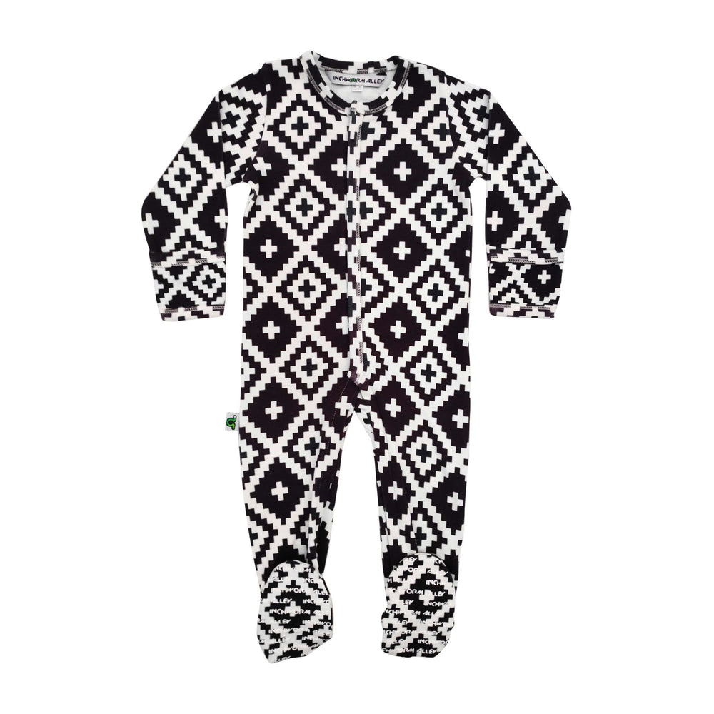 Tribal Diamonds Sleeper - Lullaby's Boutique