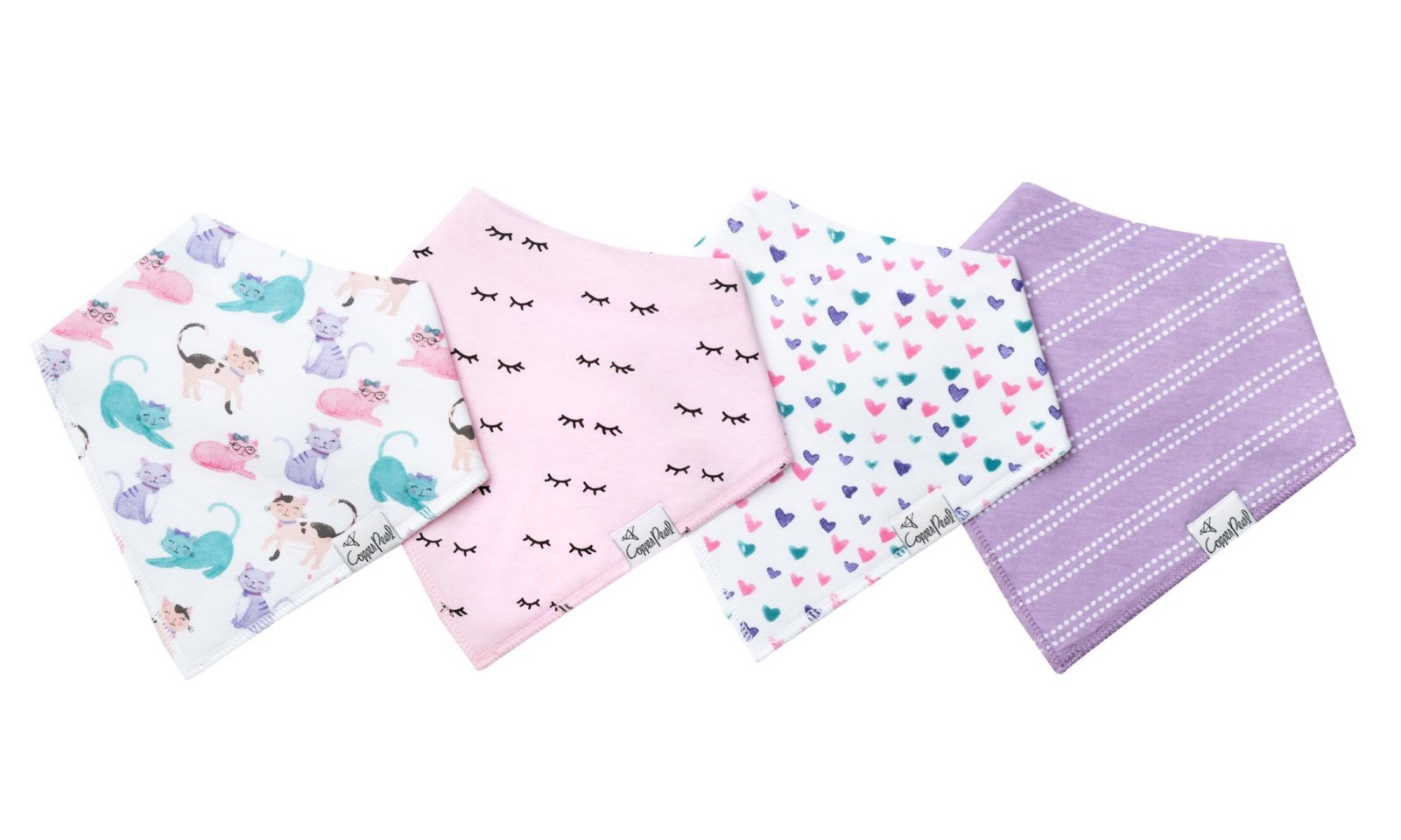 Sassy Bibs, 4 pack - Lullaby's Boutique