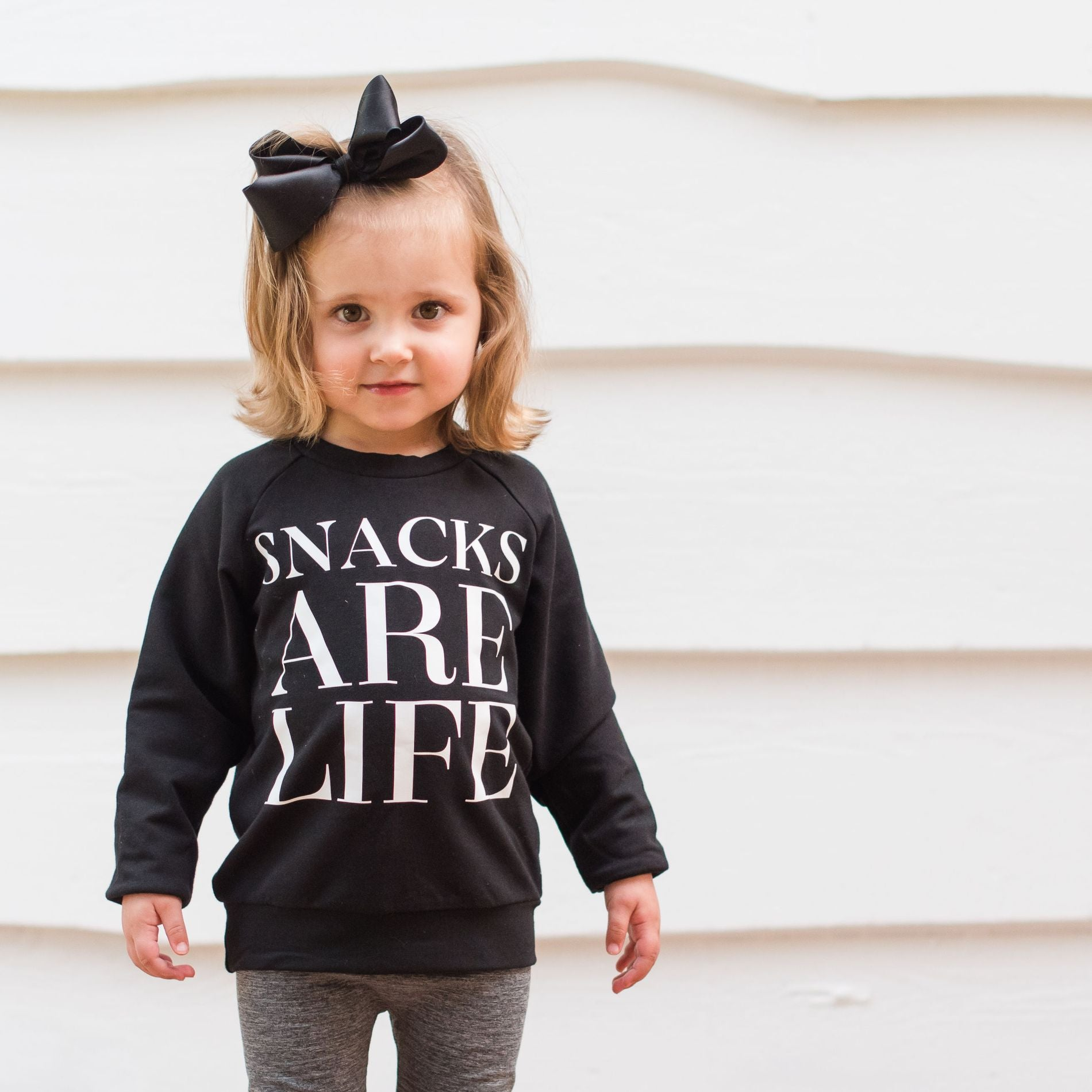 Snacks are Life Sweater - Lullaby's Boutique